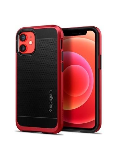 Spigen iPhone 12 Mini Kılıf, Neo Hybrid Kırmızı